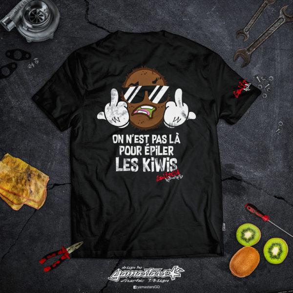 T-Shirt pas la pour epiler les kiwis