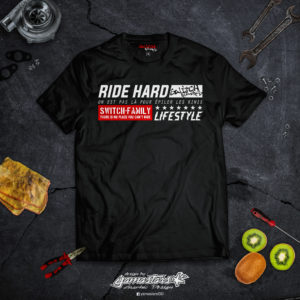 Tshirt Ride Hard Switch Riders
