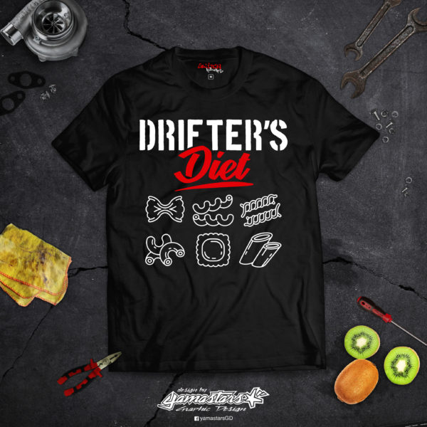 t-shirt drifters diet switch riders
