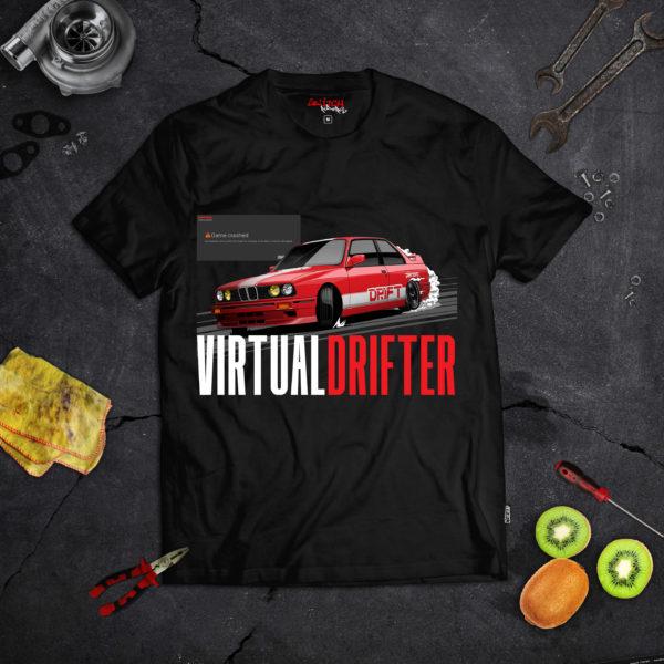 tshirt virtual drifter simulateur drift