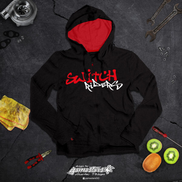 HOODIE SWITCH RIDERS